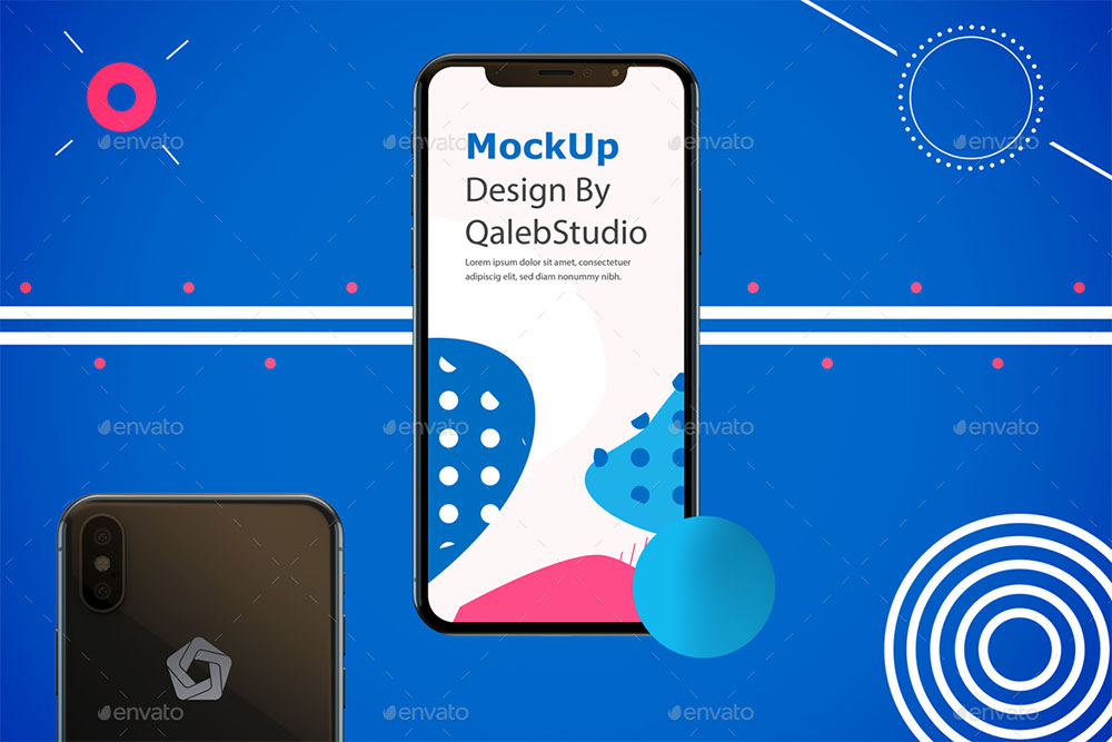 34 iPhone XS Mockups To Create Awesome Mobile Apps - Colorlib