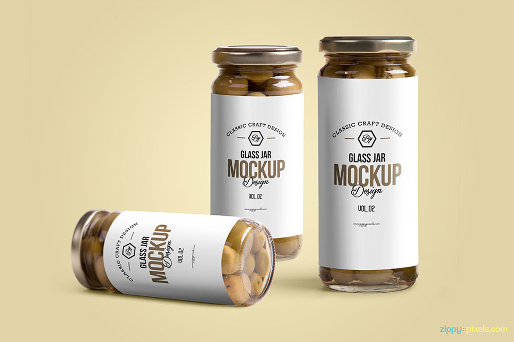 42 Useful Glass Bottle Mockups Food And Beverage Packaging Colorlib