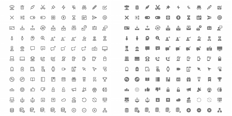 350 Free Vector Icons - Google Material Design