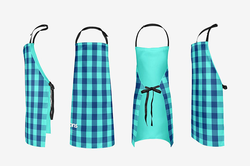 Apron styles and kitchen apron designs