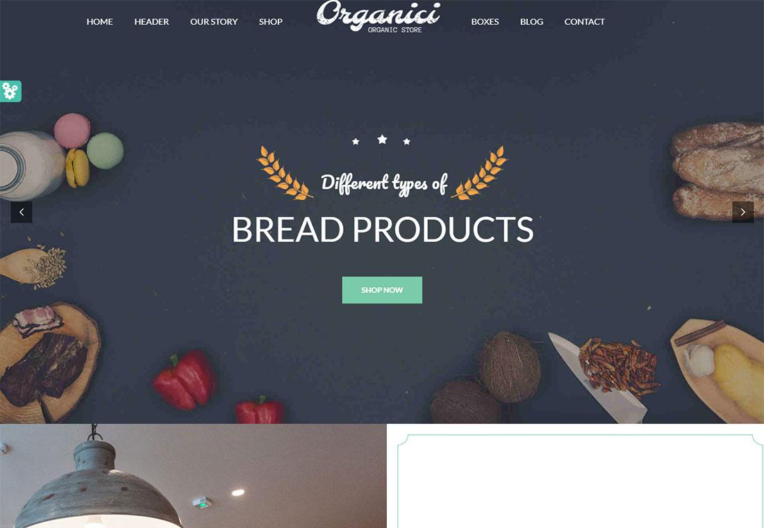 Organici - HTML5