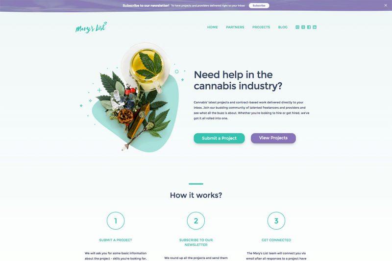 20 Breathtaking Cannabis Websites Design To Explore For Effective Marketing 2020