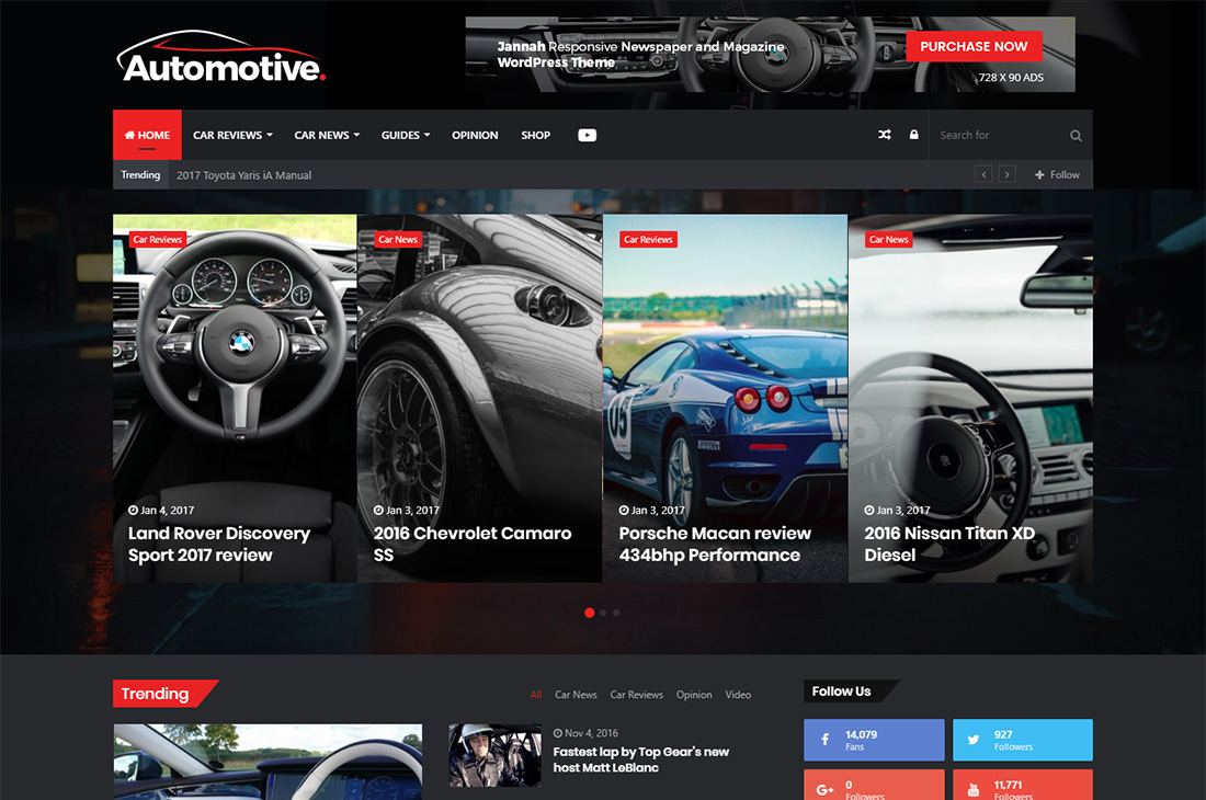 jannah new cars magazine wordpress themes