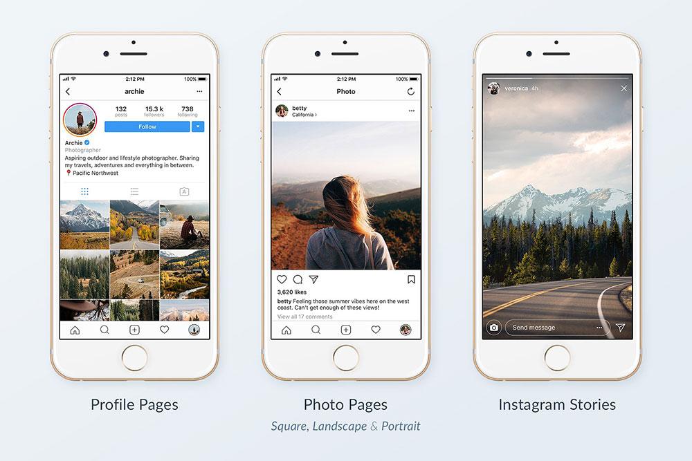 32 Best Instagram Mockups For A Creative Instagram Marketing