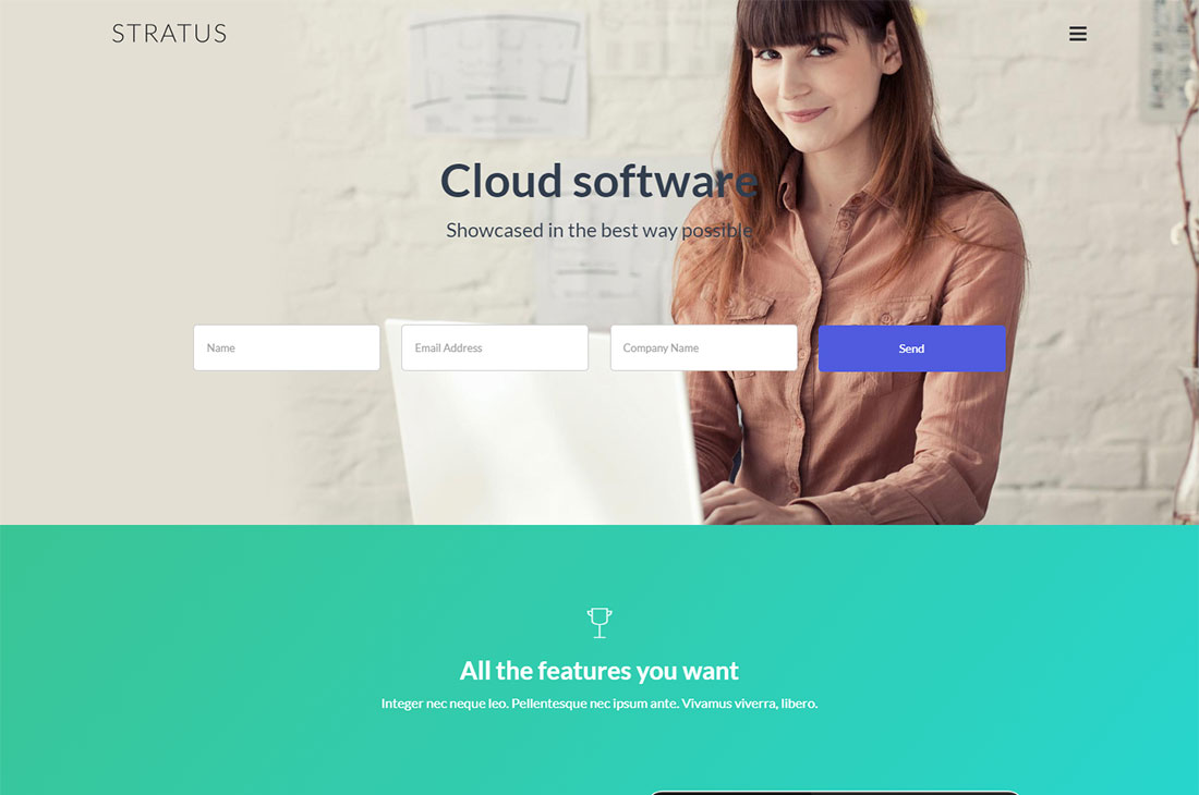 Startus Lead Generation WordPress Theme