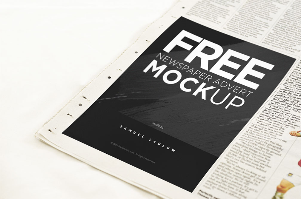 newspaper mockups