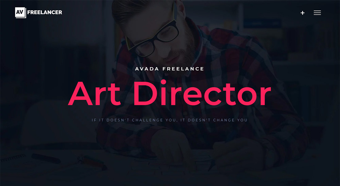 Avada Personal Branding WordPress Theme