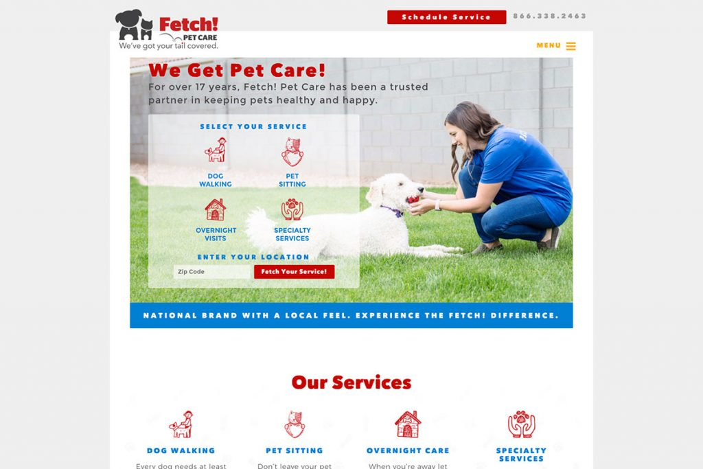 Fetch Pet Care