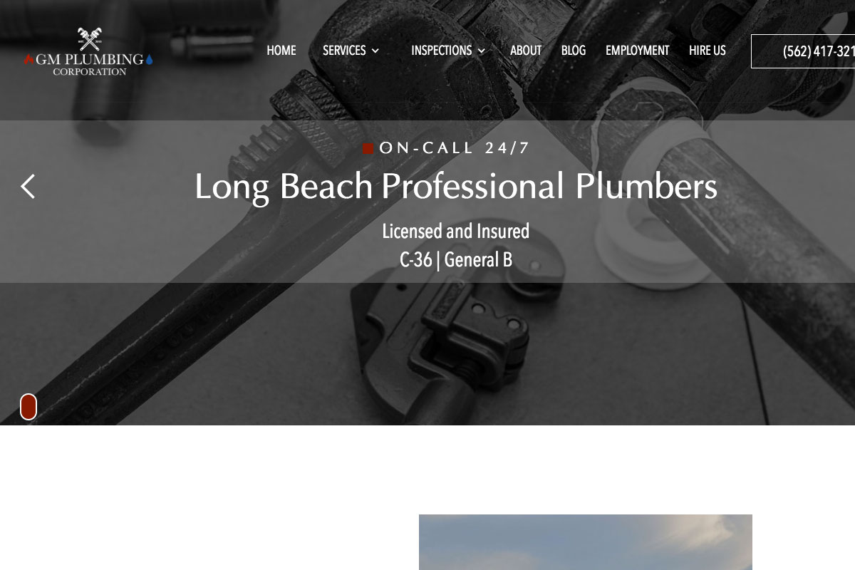 , 17 Best Plumbing Websites Design For Inspiration 2019, Rojak WP