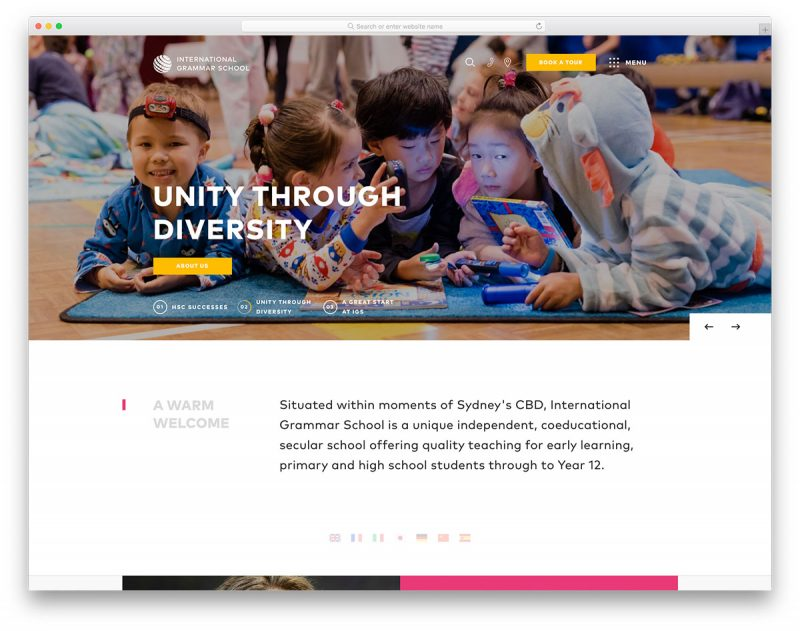 19 Best Preschool & Kindergarten Websites Design Inspiration 2019
