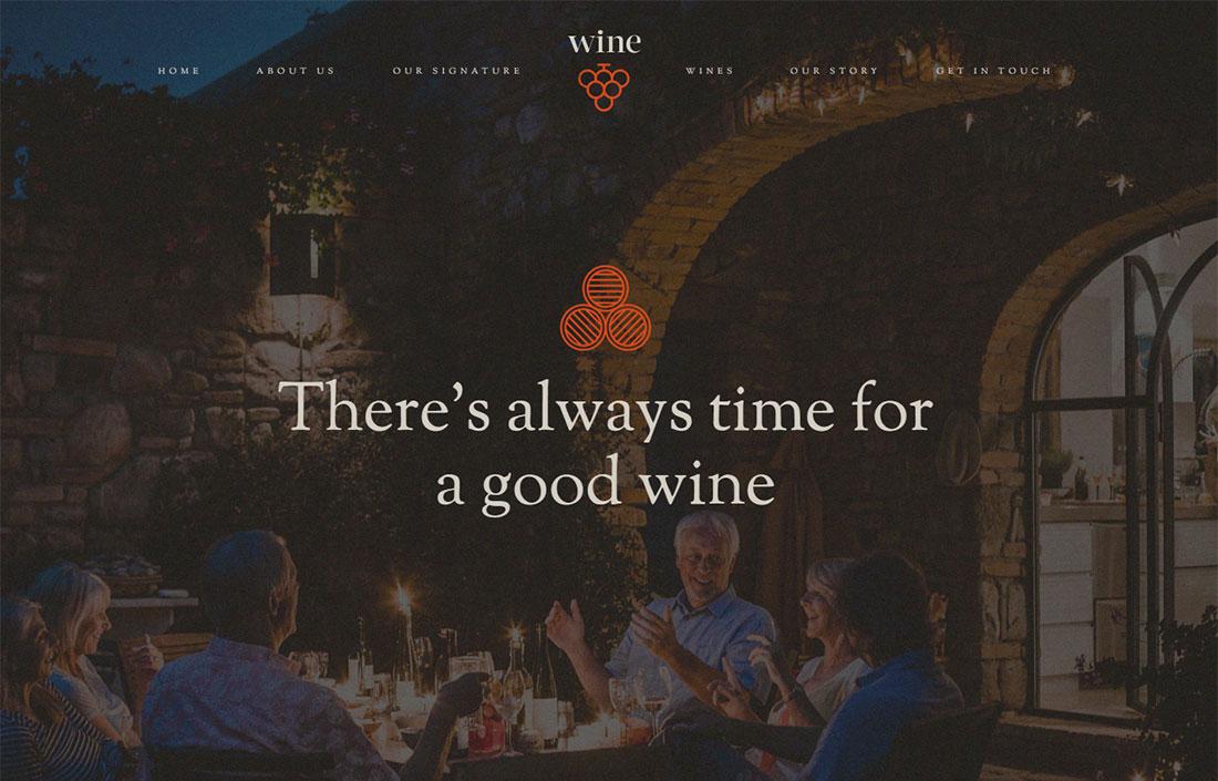 kallyas wine shop WordPress theme