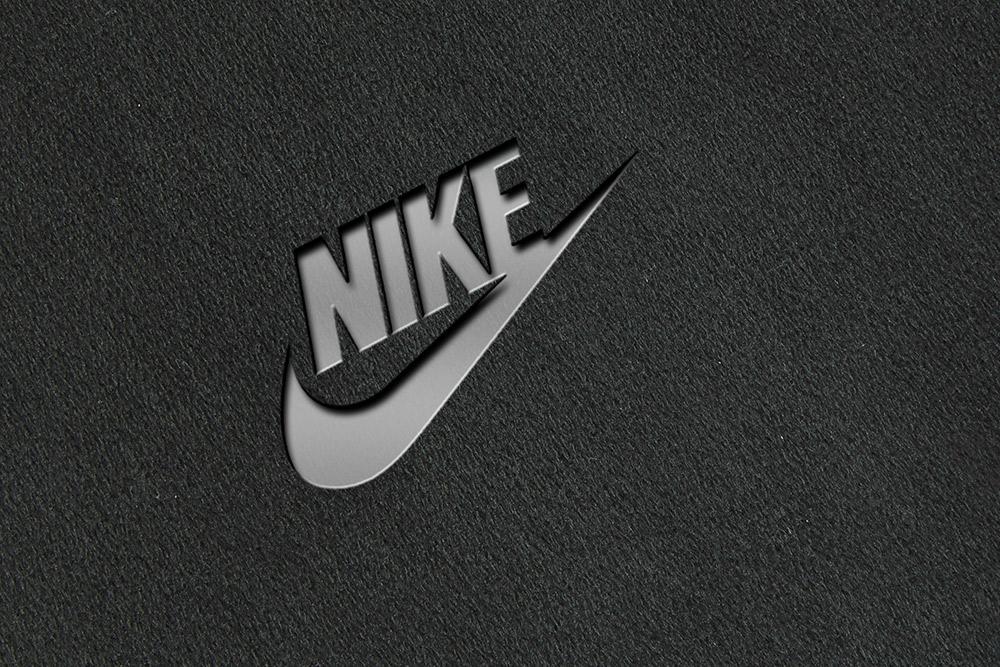 3d press logo mockup
