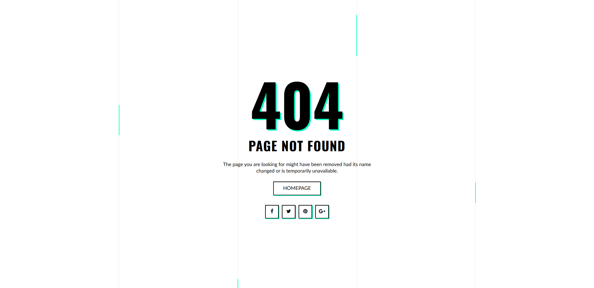 35 Best Easy To Use Free 404 Error Page Templates 2018 Colorlib Not Found V15