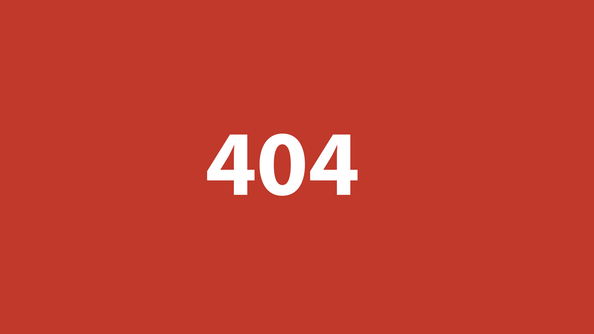404 Not Found Error Page Examples