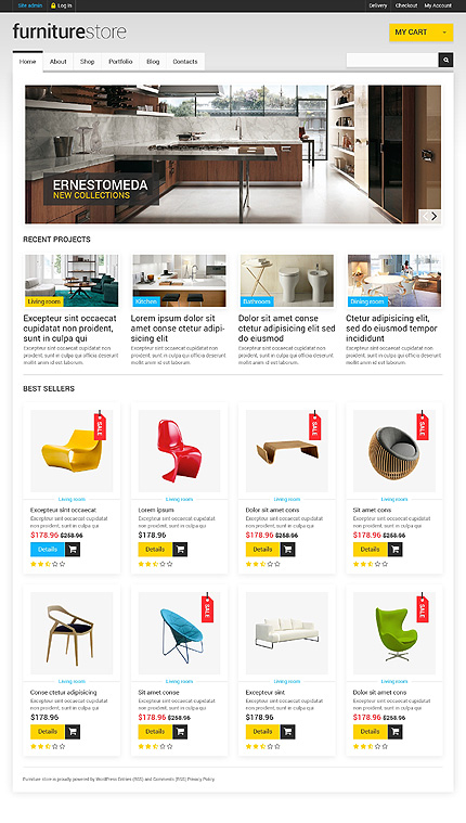 Furniture that Creates Comfort WooCommerce Theme