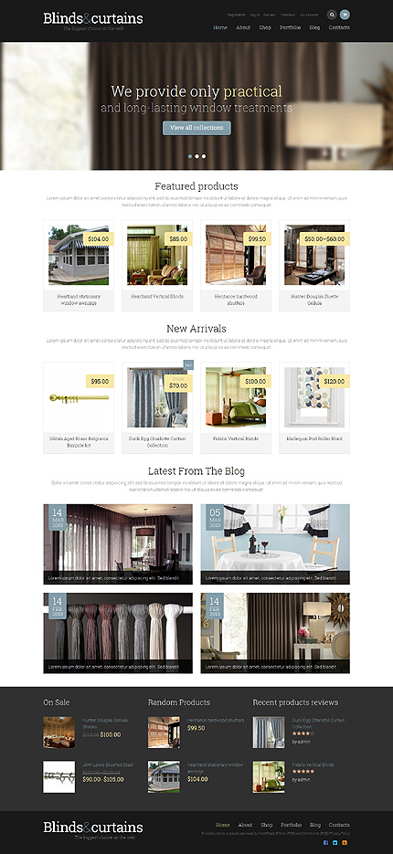 Window Decor Responsive WooCommerce Theme. Start With Yourself  20 Premium WooCommerce Web Designs For Design