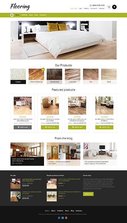 Flooring Responsive WooCommerce Theme