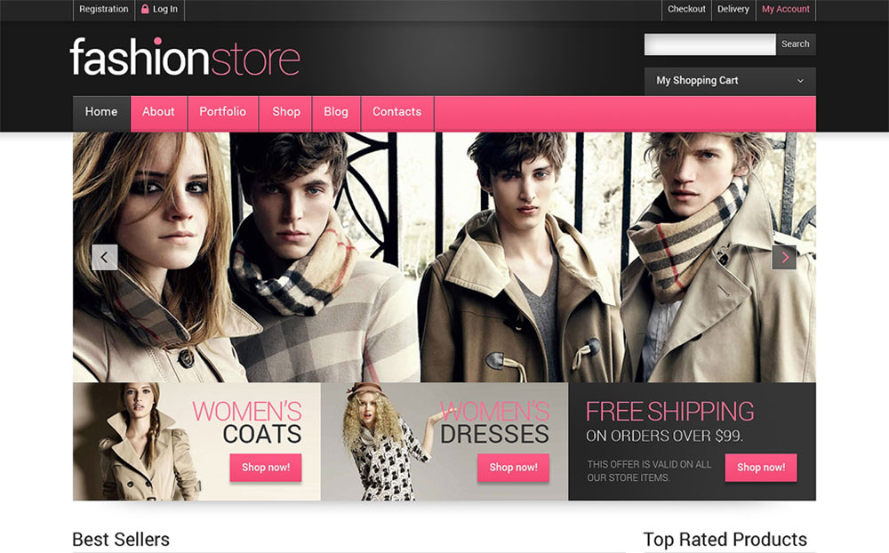 Clothes Online WooCommerce Theme