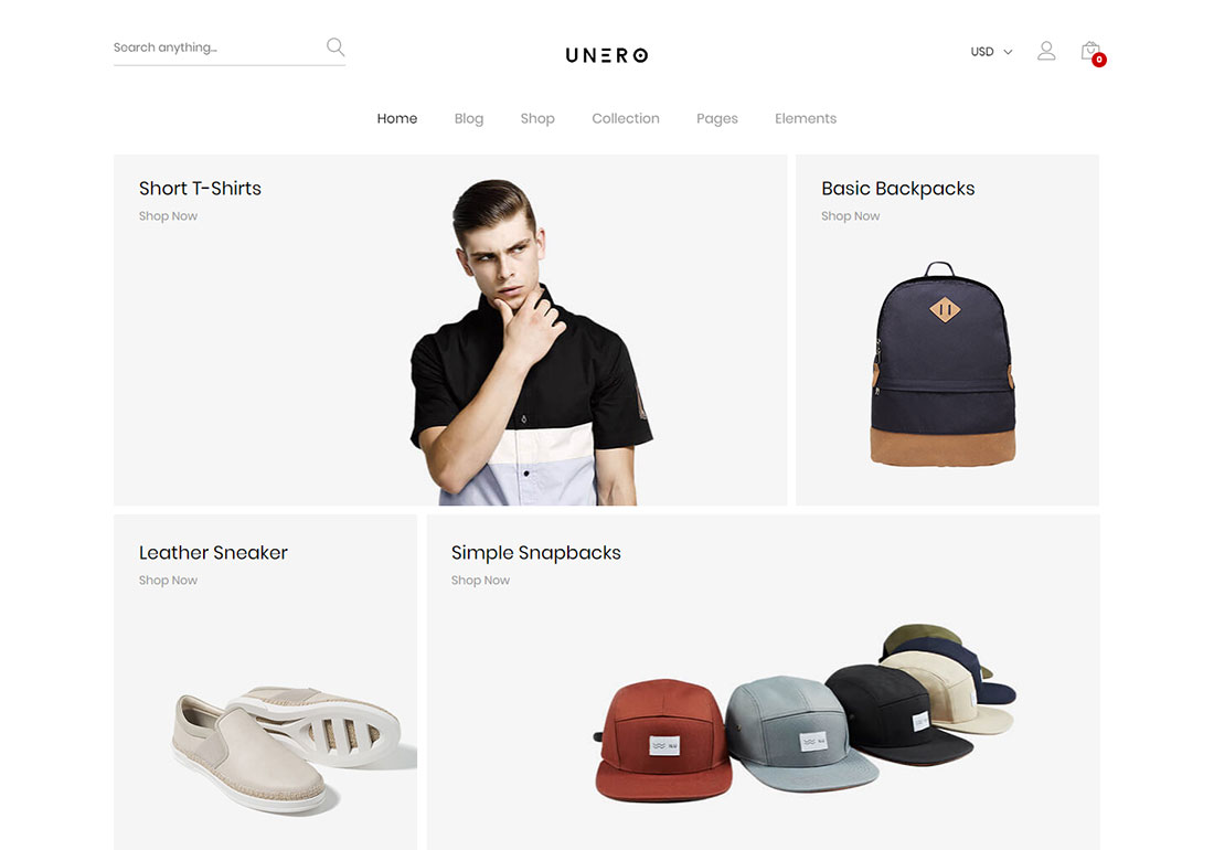 unero ajax woocommerce theme