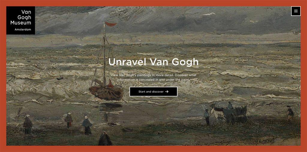 Unravel Van Gogh Amsterdam