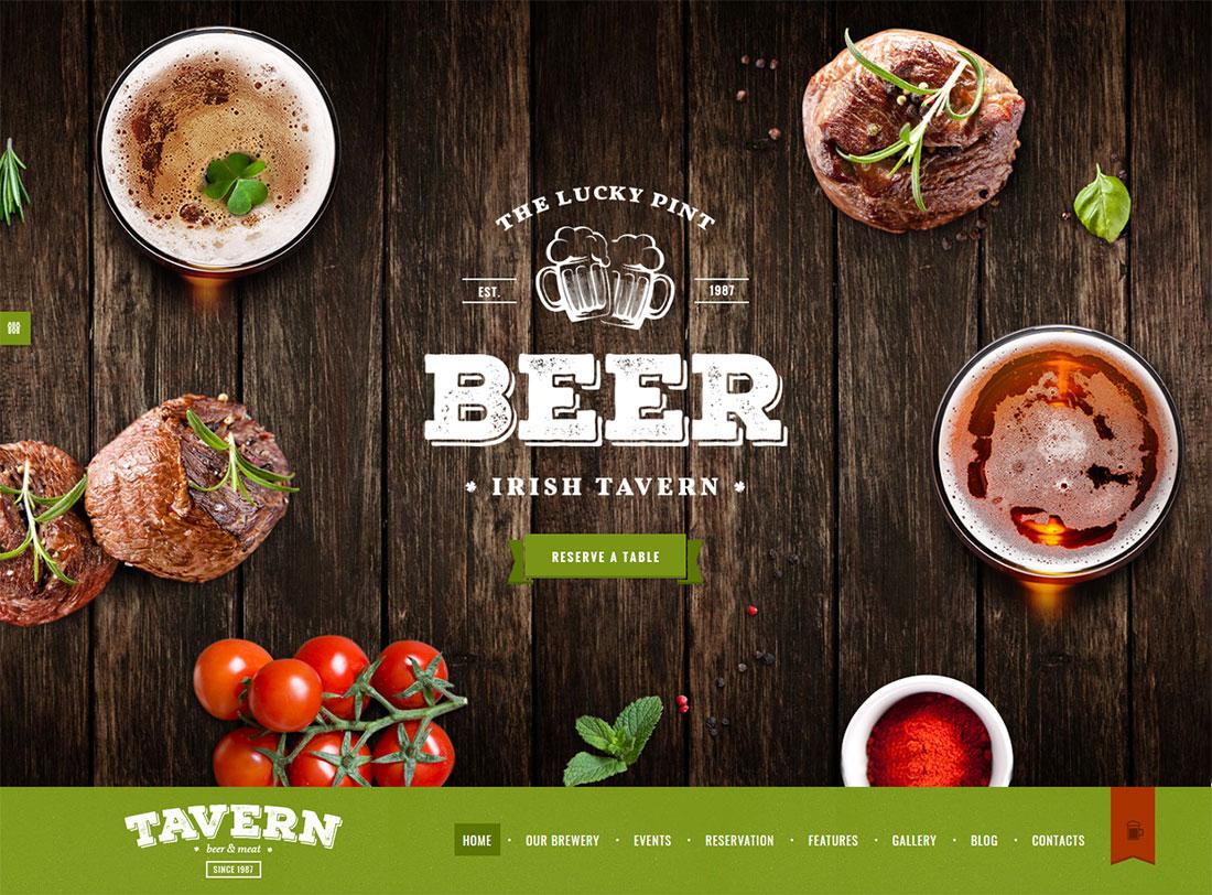 Tavern -HTML