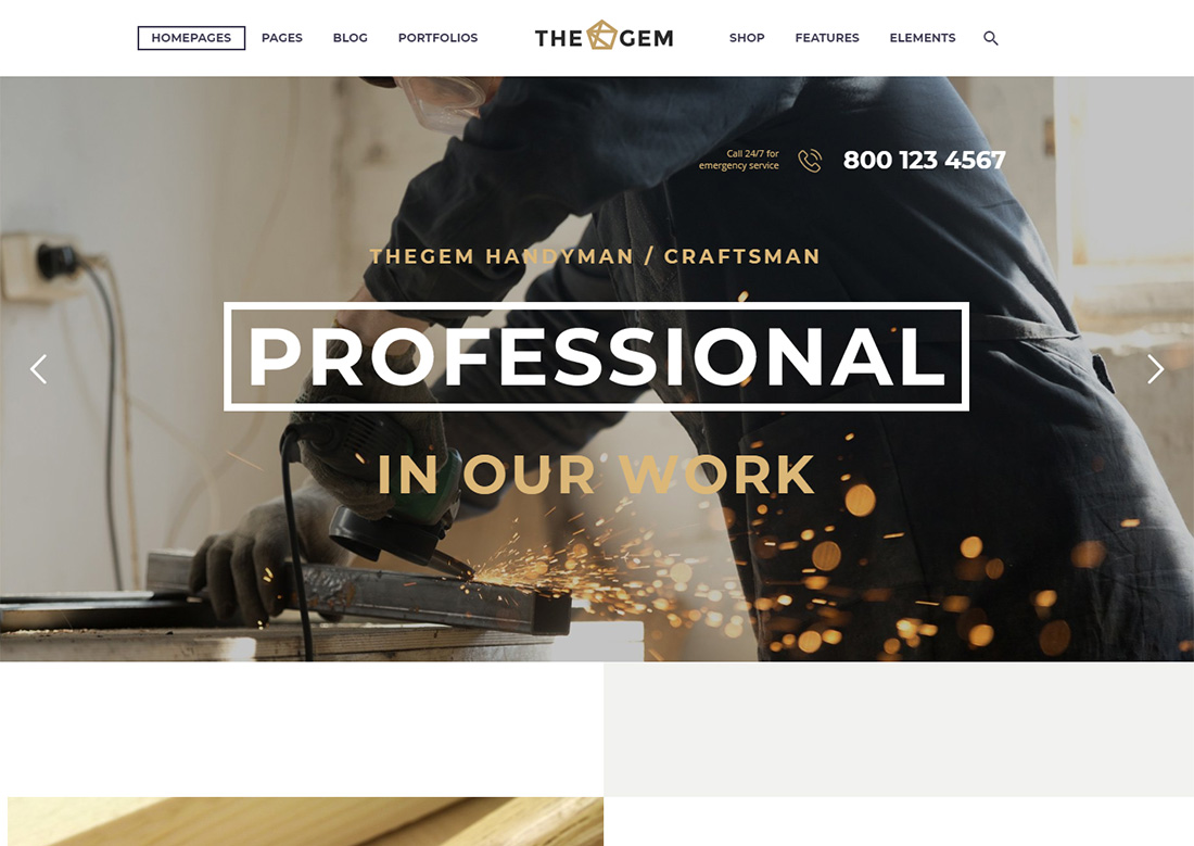 Best Craftsman WordPress theme