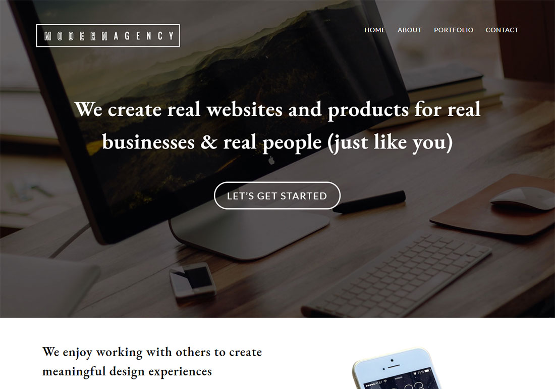 Total digital agency WordPress theme