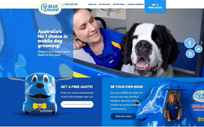 17 Stunning Dog Grooming Websites To Stimulate Brands 2020
