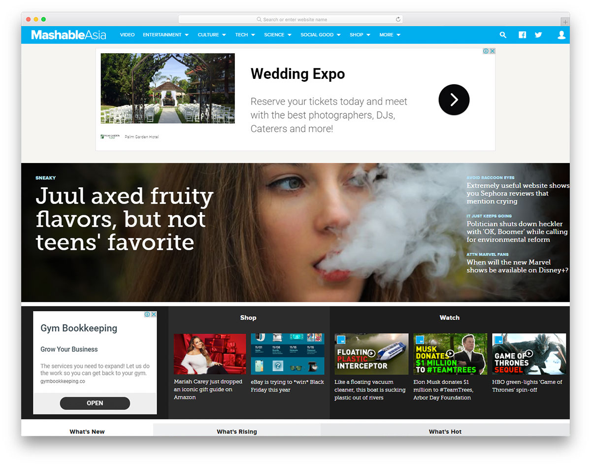 20 Best Newspaper Website Designs To Look Into 2019 Colorlib