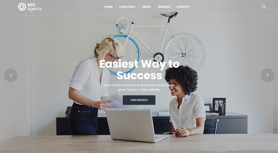 Massive Dynamic seo agency WordPress theme