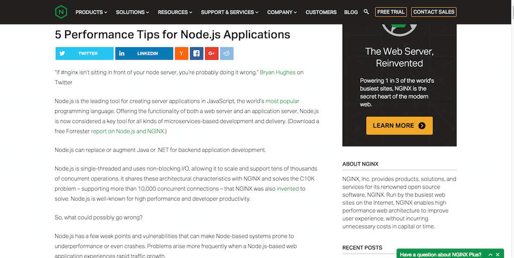 5 Performance Tips for Node.js Applications