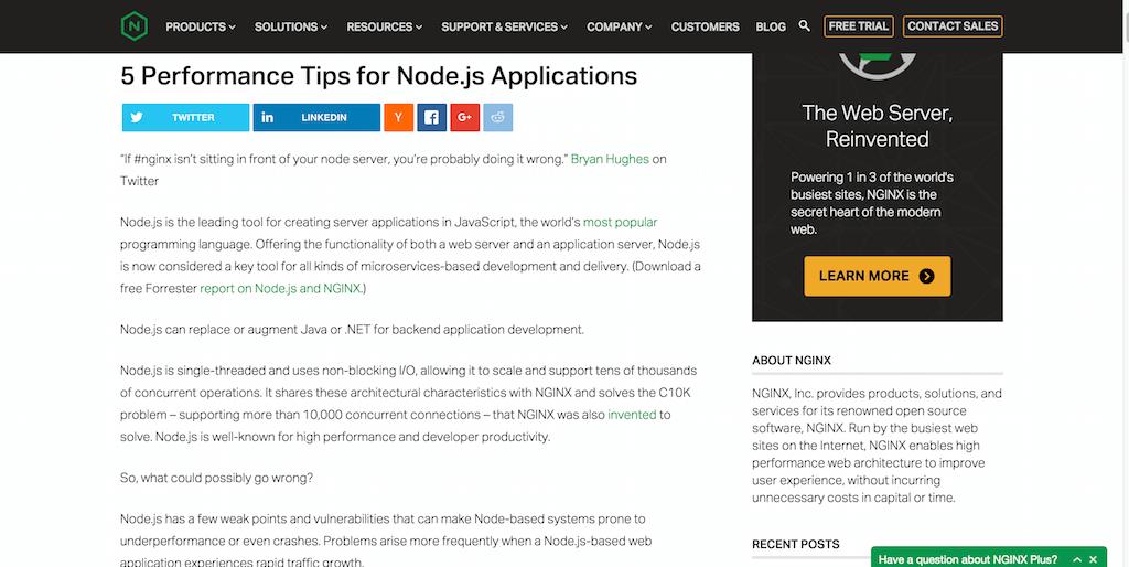 5 Performance Tips for Node.js Applications