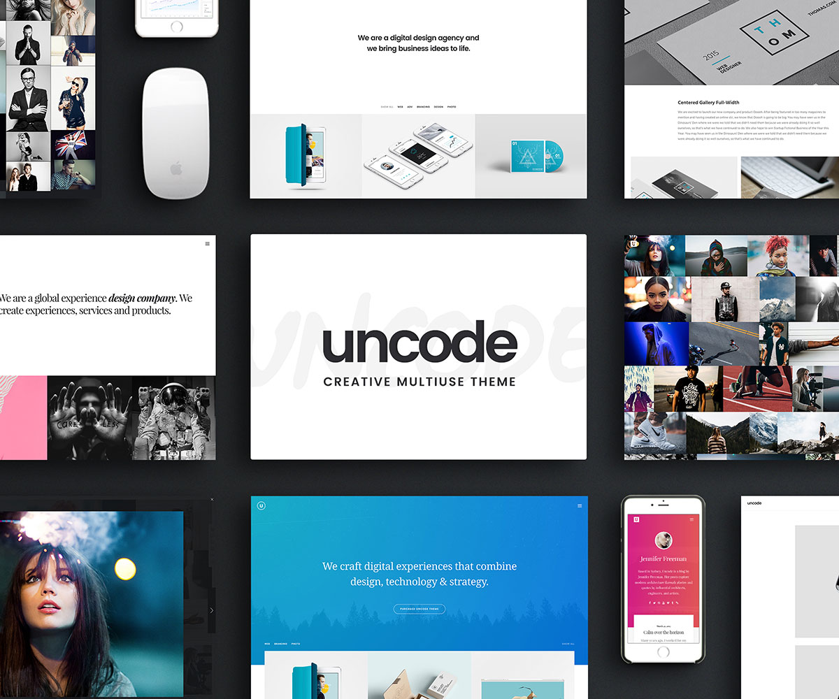Uncode Is An Incredibly Beautiful And Completely Visually Enthralling Tech Savvy Brilliantly Structured Navigationally Intuitive Engaging
