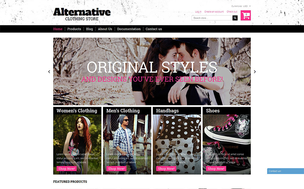 Alternative Outfit Shopify Theme