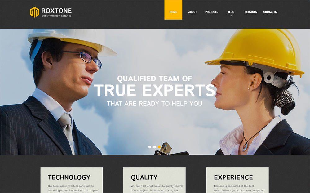Roxtone Responsive HTML Template