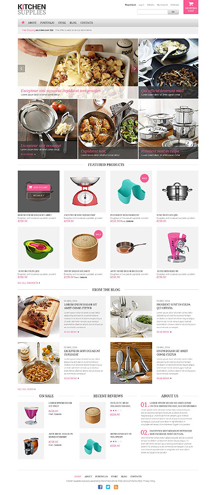 Housewares Responsive WooCommerce Theme