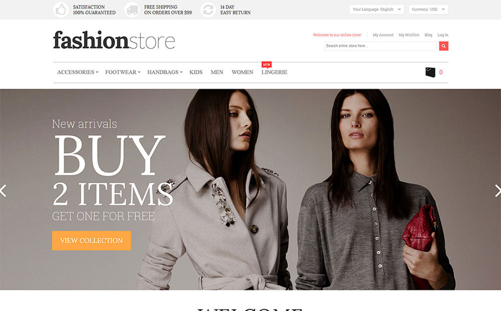 Stylify: Fashion Store Magento Template