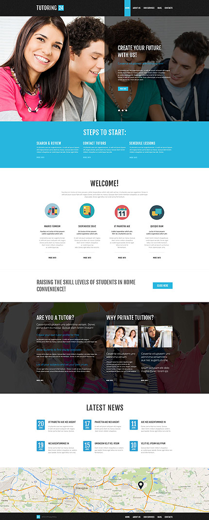 Education Online WordPress Theme