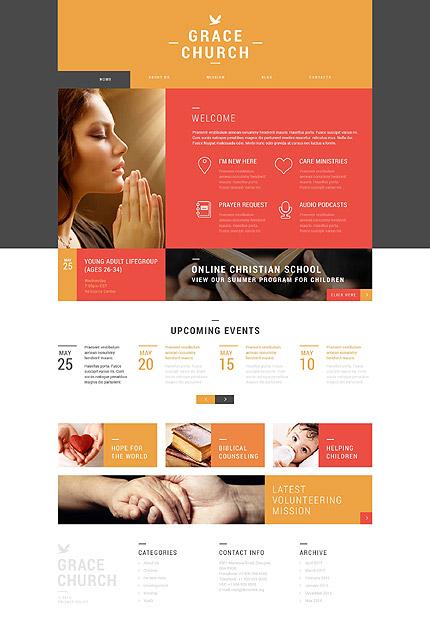 Religious Organization WordPress Theme