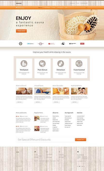 Sauna WordPress Theme