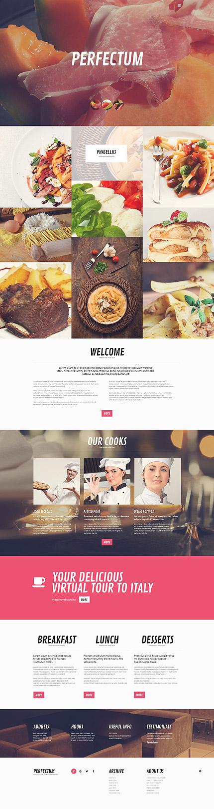 Cafe and Restaurant WordPress Theme
