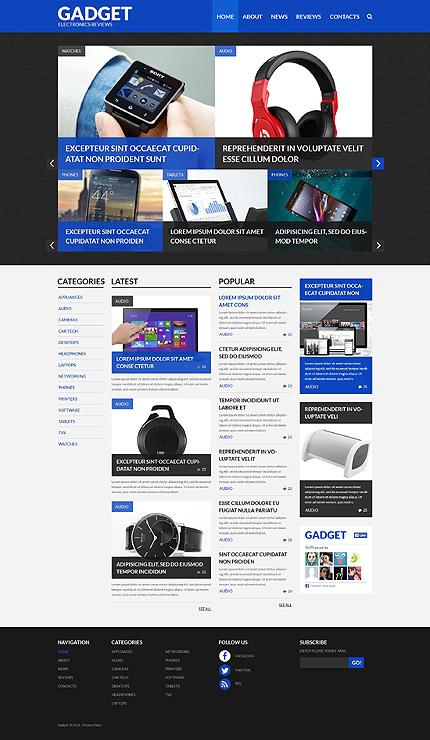 Electronics Reviews WordPress Theme