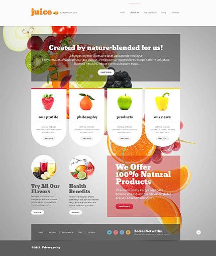 Food & Drink Responsive WordPress Theme