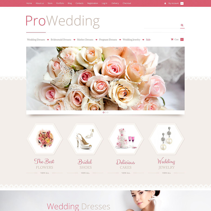 Wedding Supplies WooCommerce Theme