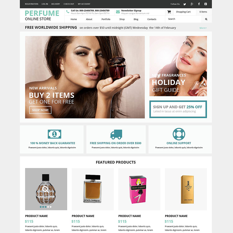 Beauty WooCommerce Theme