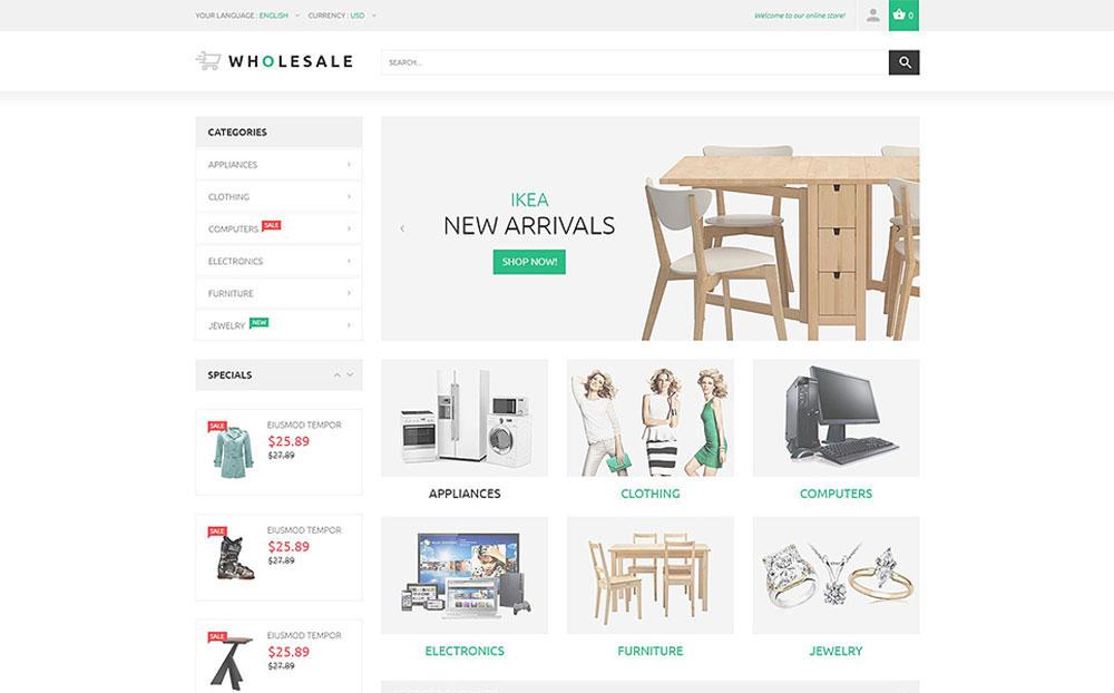 Best Houseware: Online Warehouse Magento Theme