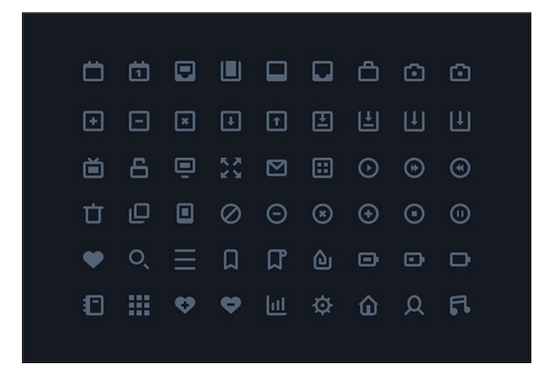 54 Stylish Icons