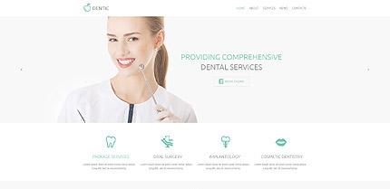 Dentist WordPress Template