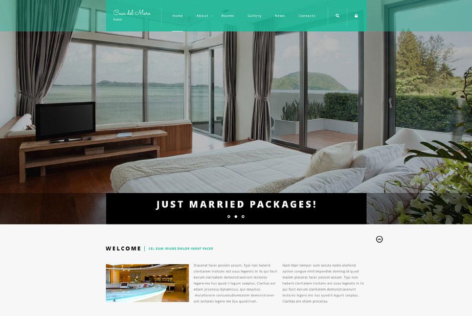 Casa del Mare - Hotel Suite Joomla Theme
