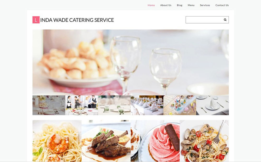 Clean Catering Co Responsive WordPress Theme